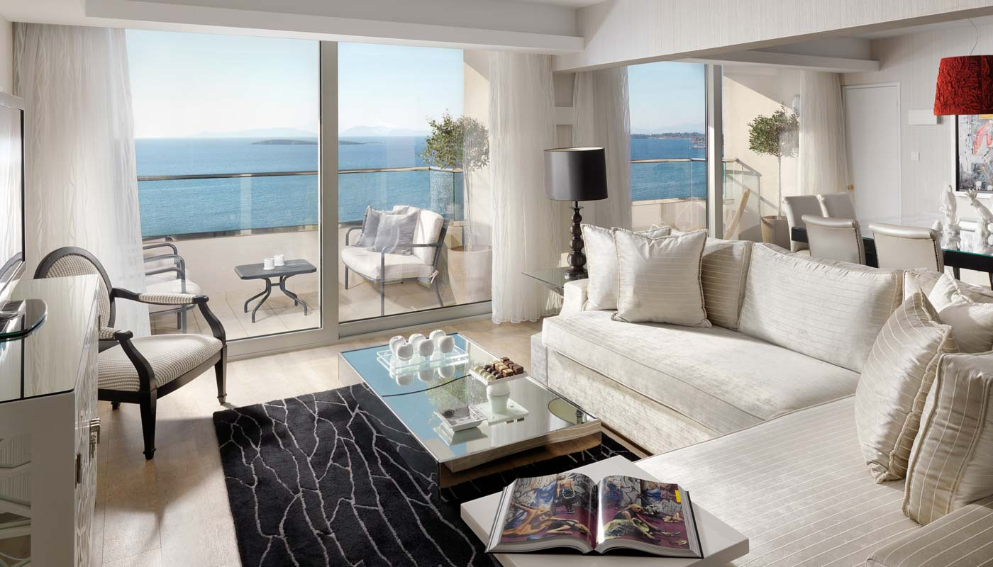 Divani Apollon Palace & Thalasso - Presidential Suite - Living Room