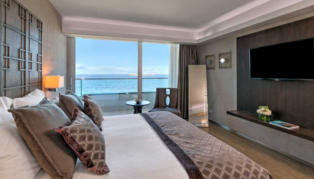 Divani Apollon Palace & Thalasso - Deluxe Suite - Bedroom