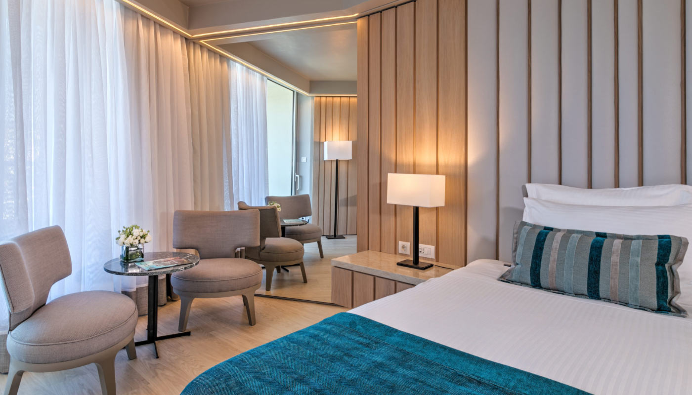 Divani Apollon Palace & Thalasso - Executive Room - Bedroom