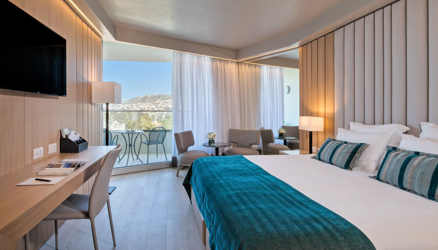 Divani Apollon Palace & Thalasso - Executive Room - Bedroom