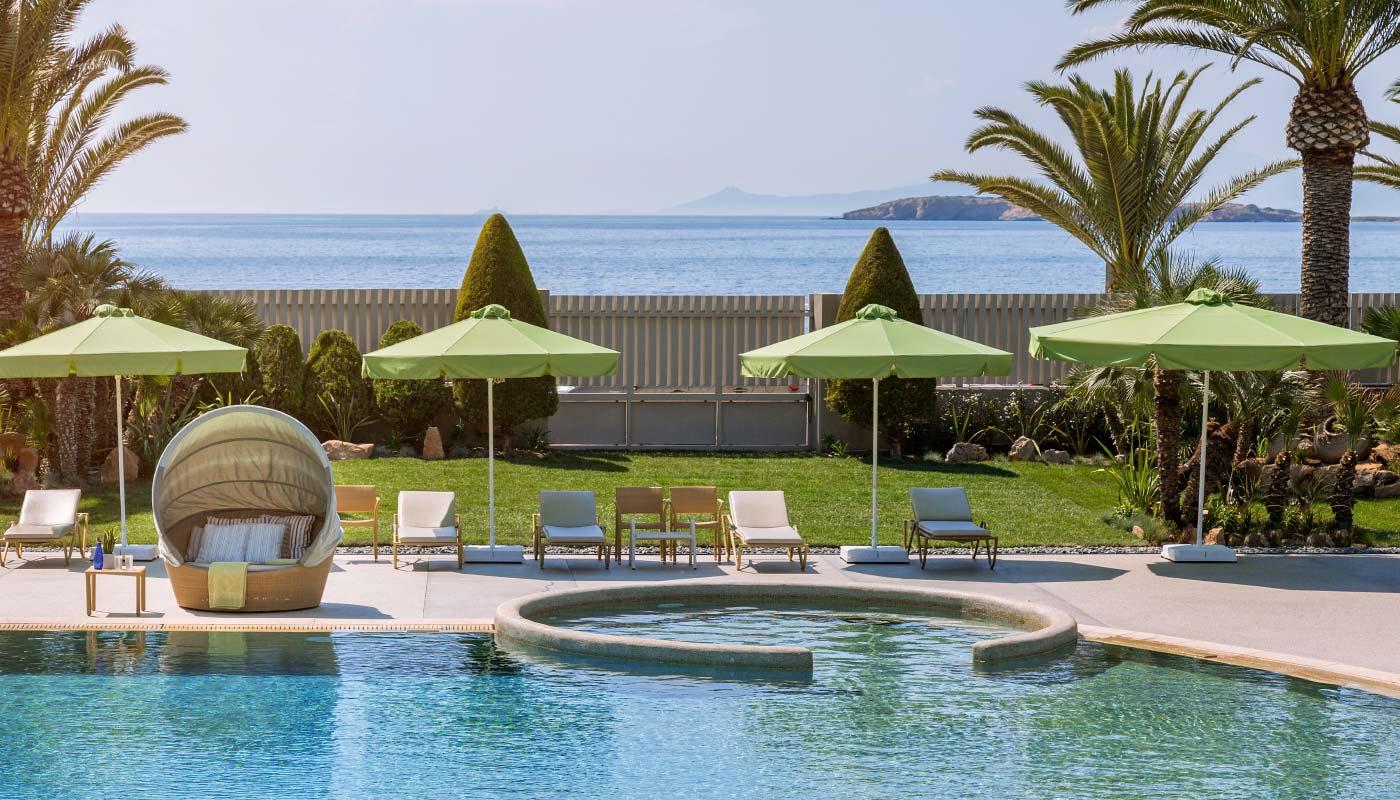 Divani Apollon Palace & Thalasso - Outdoor Pool