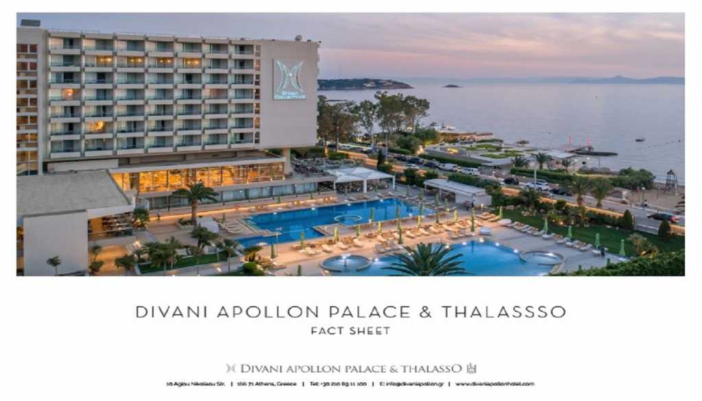 Divani Apollon Palace & Thalasso - Fact Sheet picture